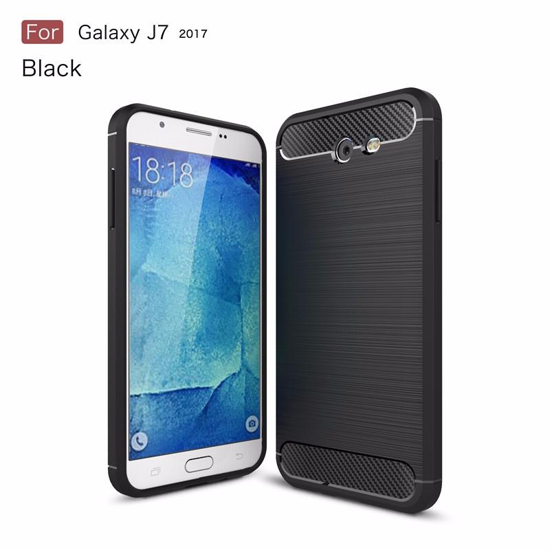KYKEO Черный Samsung Galaxy J7 2017 US ultra slim clear phone cases for samsung galaxy s6