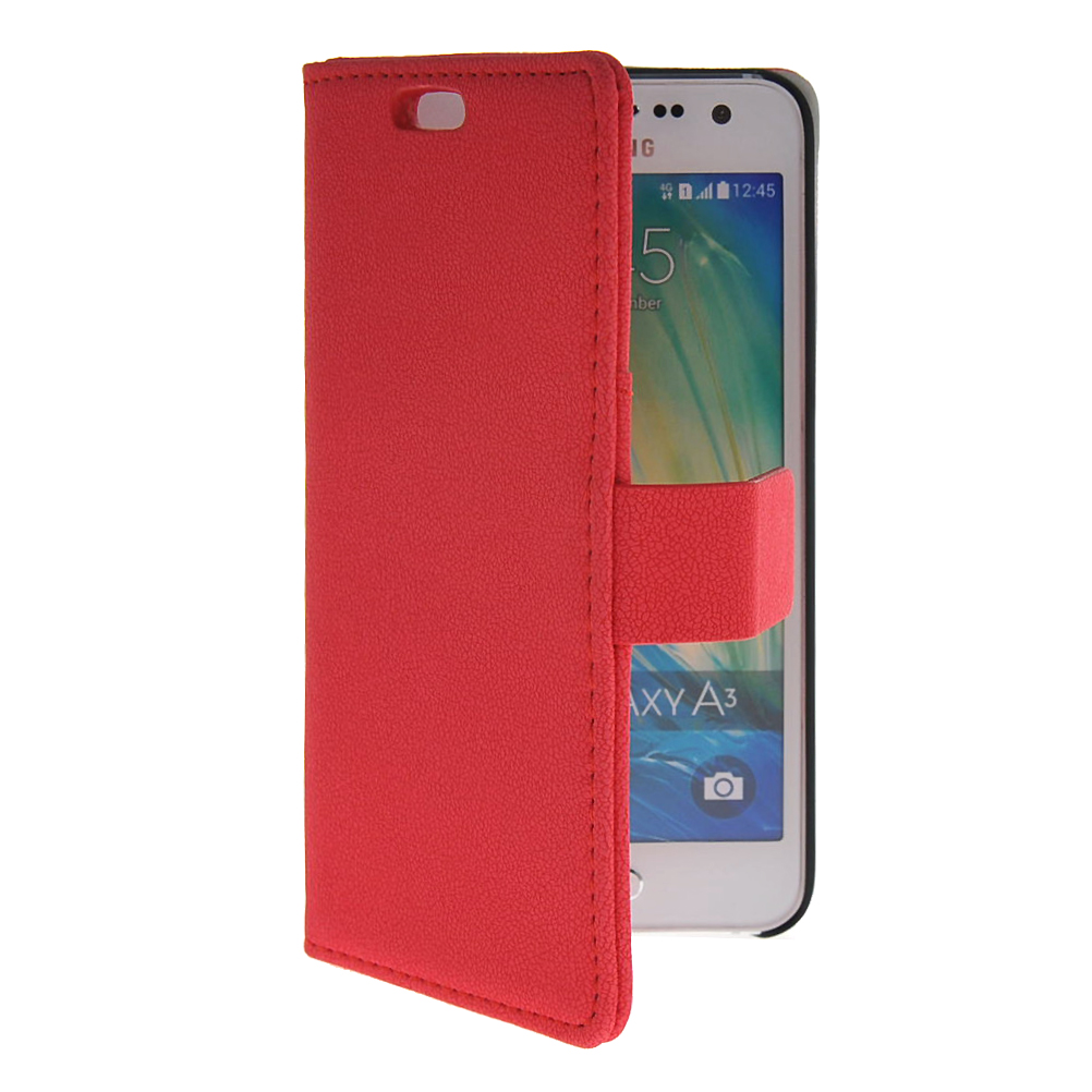 MOONCASE mooncase slim leather side flip wallet card slot pouch with kickstand shell back чехол для samsung galaxy a7 mint green