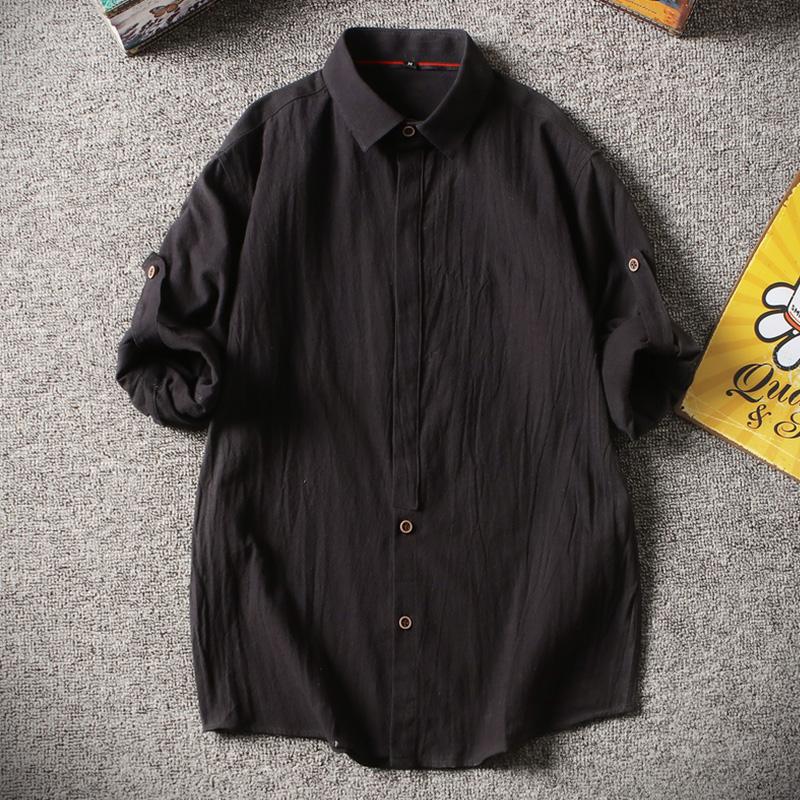 DINGBING Black 4XL рубашка guahoo outdoor heavy 4xl black 22 0340s