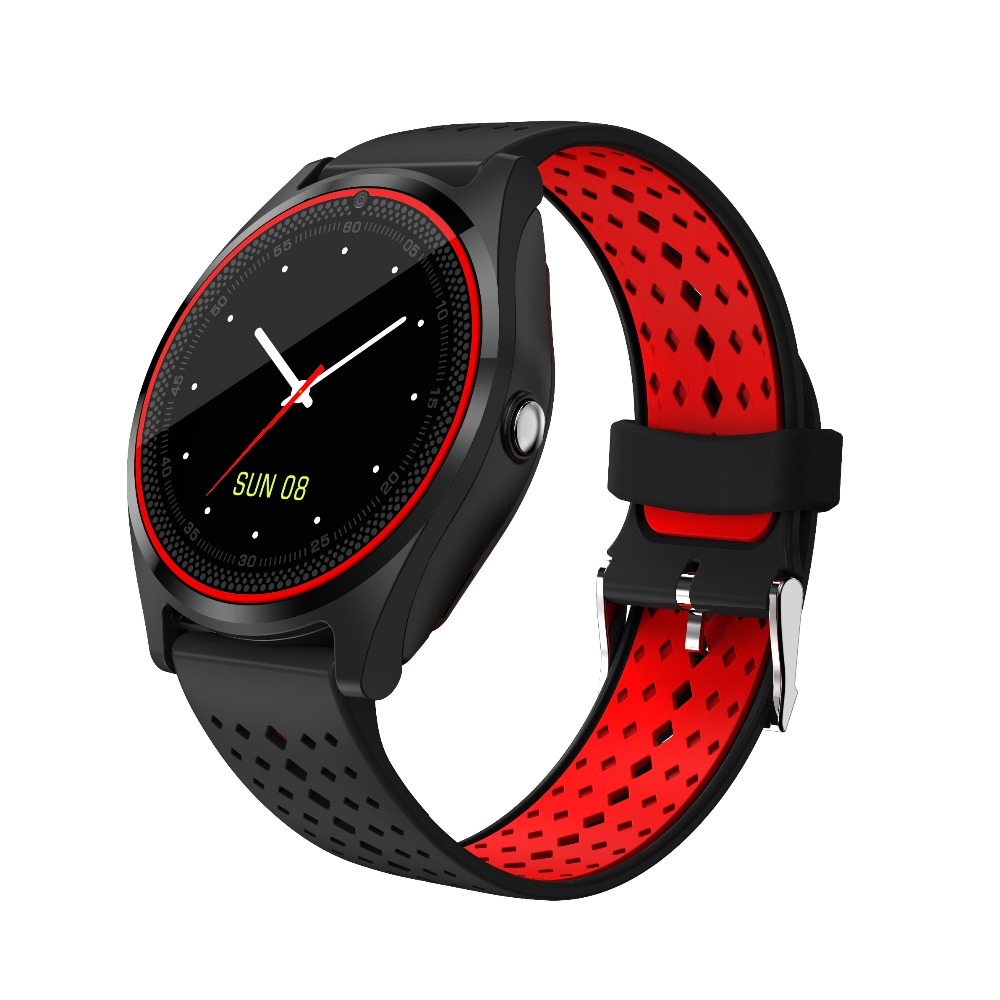 chkj Чёрный цвет 438mm uwatch bluetooth smart watch wristwatch with gps pedometer smartwatch wearable devices for android phone relojes inteligentes