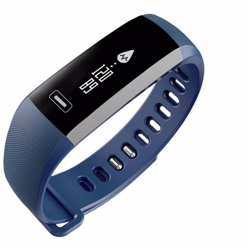READ Синий e band bluetooth 4 0 wristband smart watch sports tracking sleep monitoring ip67