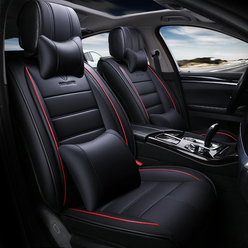 Чехлы для автомобильных сидений легко чистящие сиденья для автомобильных сидений для автомобильных сидений To Your Taste auto accessories Black классический фото