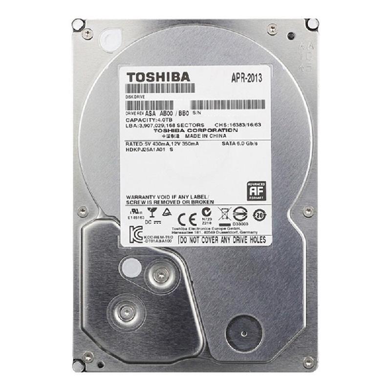 TOSHIBA 4 Тб hdd диск