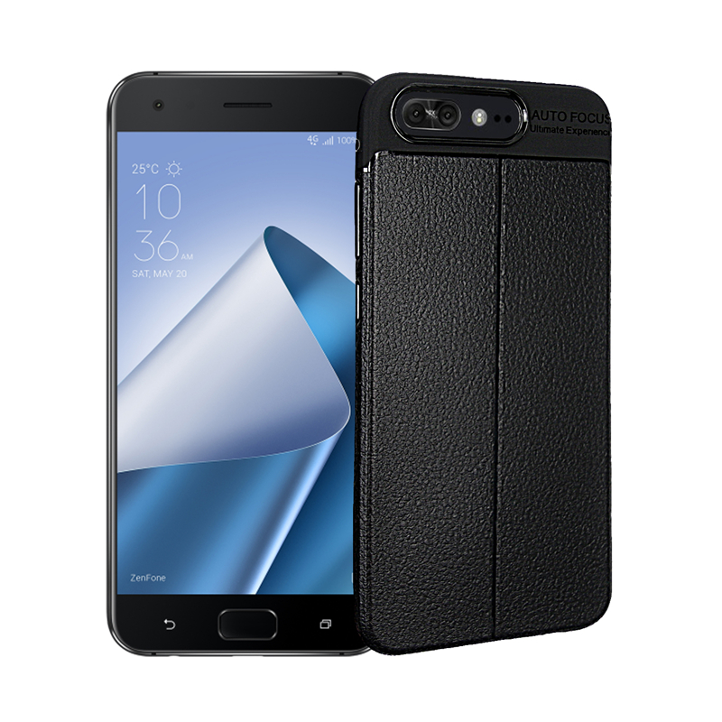 goowiiz черный ASUS Zenfone 4 Pro ZS551KL durable crazy horse pattern up and down style flip buckle pu leather case for asus zenfone 4 pro 5 5 inch zs551kl