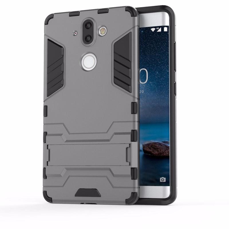 WIERSS Серый для Nokia 8 мобильный телефон nokia 130 ds ta 1017 grey серый 1 8 8 мб