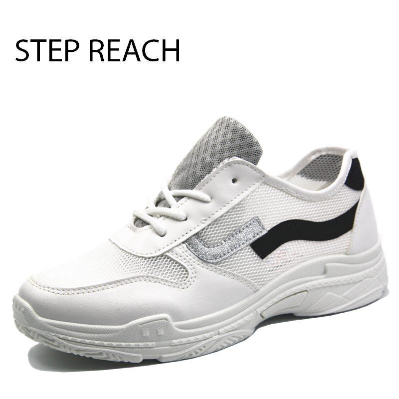 STEPREACH Black 38 24см fashion women shoes women casual shoes comfortable damping eva soles platform shoes for all season superstar hot selling kh k17