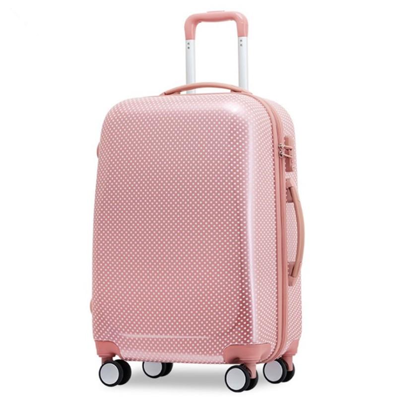 Earth tell розовый 24 дюйма багажники inno