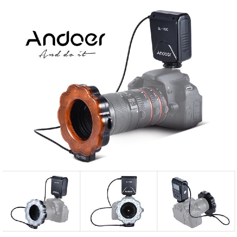 Фото - ANDOER черный meike fc 100 for nikon canon fc 100 macro ring flash light nikon d7100 d7000 d5200 d5100 d5000 d3200 d310