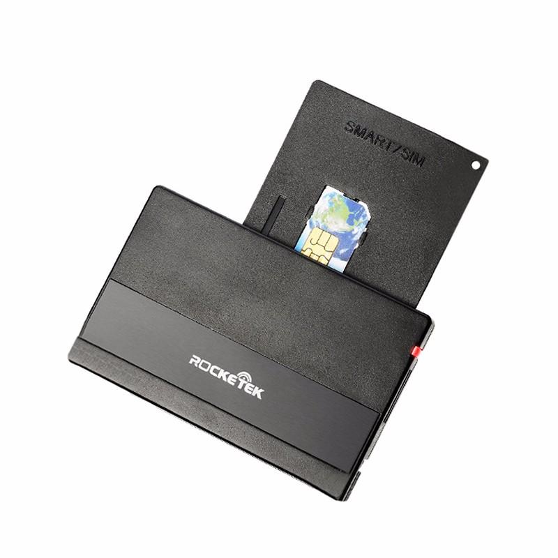 ROCKETEK 3 port usb 2 0 hub ms ms pro duo sd mmc m2 micro sd card reader black red