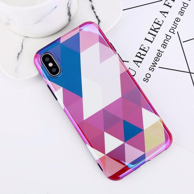 Случай телефона случая телефона Мягкий случай телефона WJ Фиолетовый iPhone 8 фото