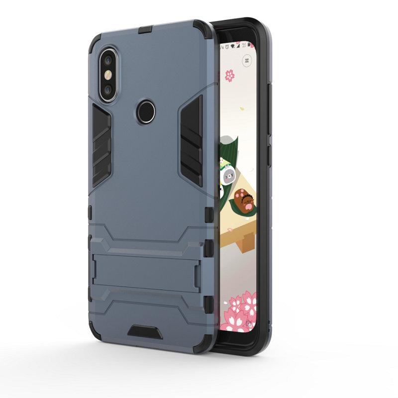 WIERSS Purplish Blue для Xiaomi Mi A2 Ударопрочный жесткий чехол для телефона
