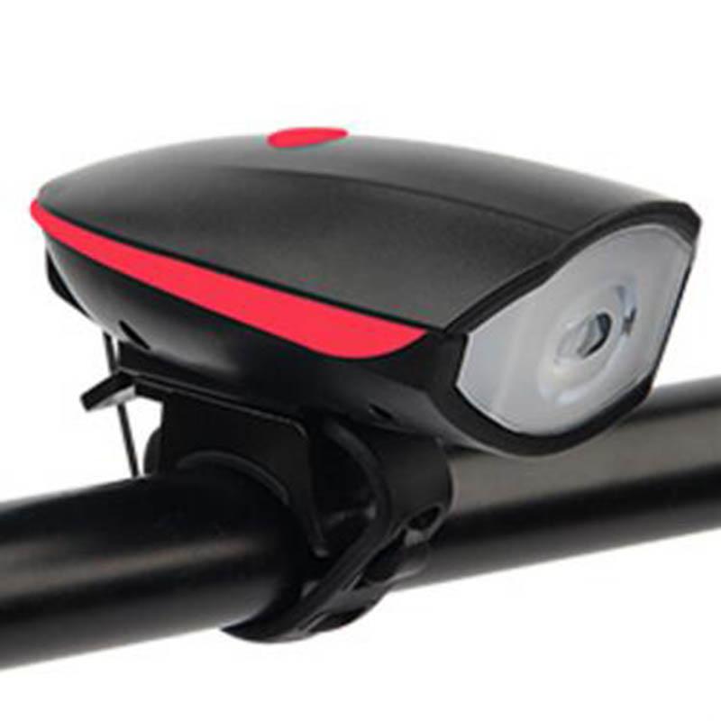 Велосипед фары велосипед колокол велосипед свет велосипед электронный колокол FTW Red фото