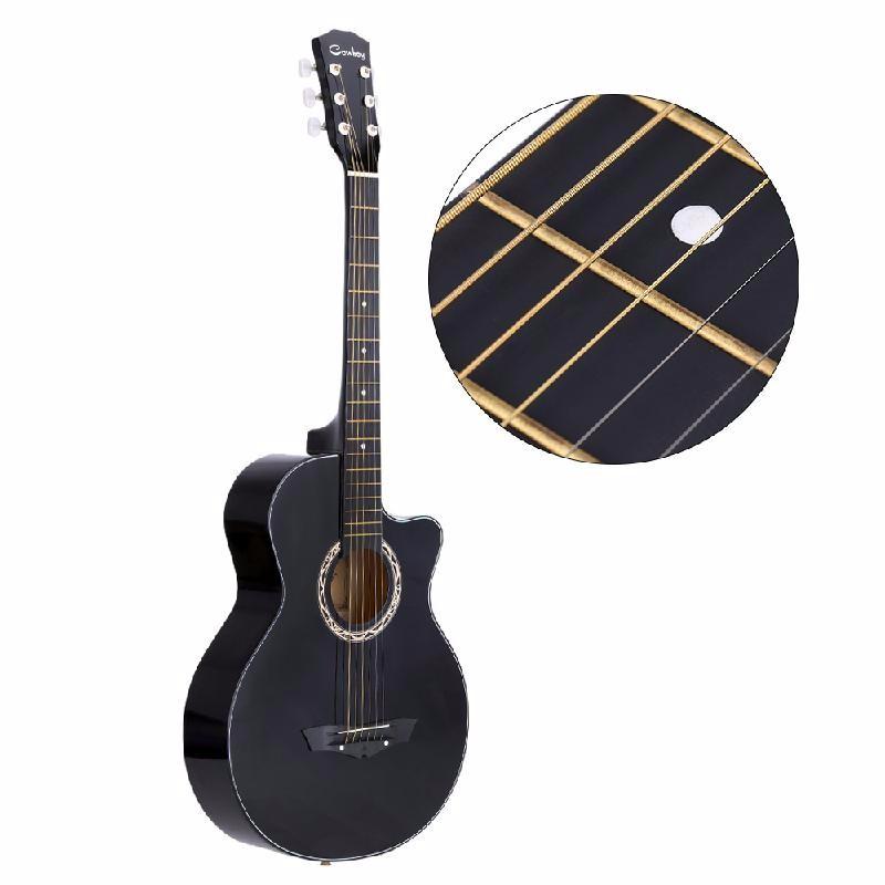 ammoon Black yibuy 300 x acoustic guitar white bone abalone dot brass circle bridge end pins