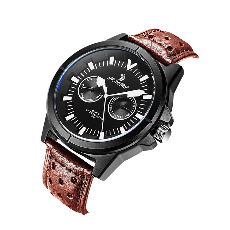 SENORS белый Мужские наручные часы черного пояса shensee ® gofuly 2015 новый 4 стили роскошь моды крокодил лже кожа мужчин аналоговые часы кварцевые часы специально для мужчин