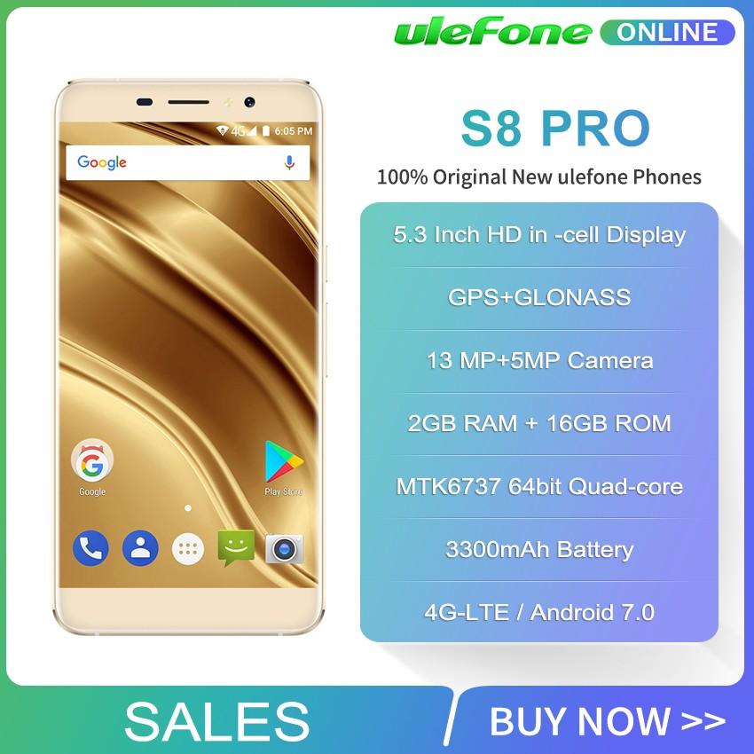 Ulefone Золото мобильный телефон godonie 4 7 4g s8 800