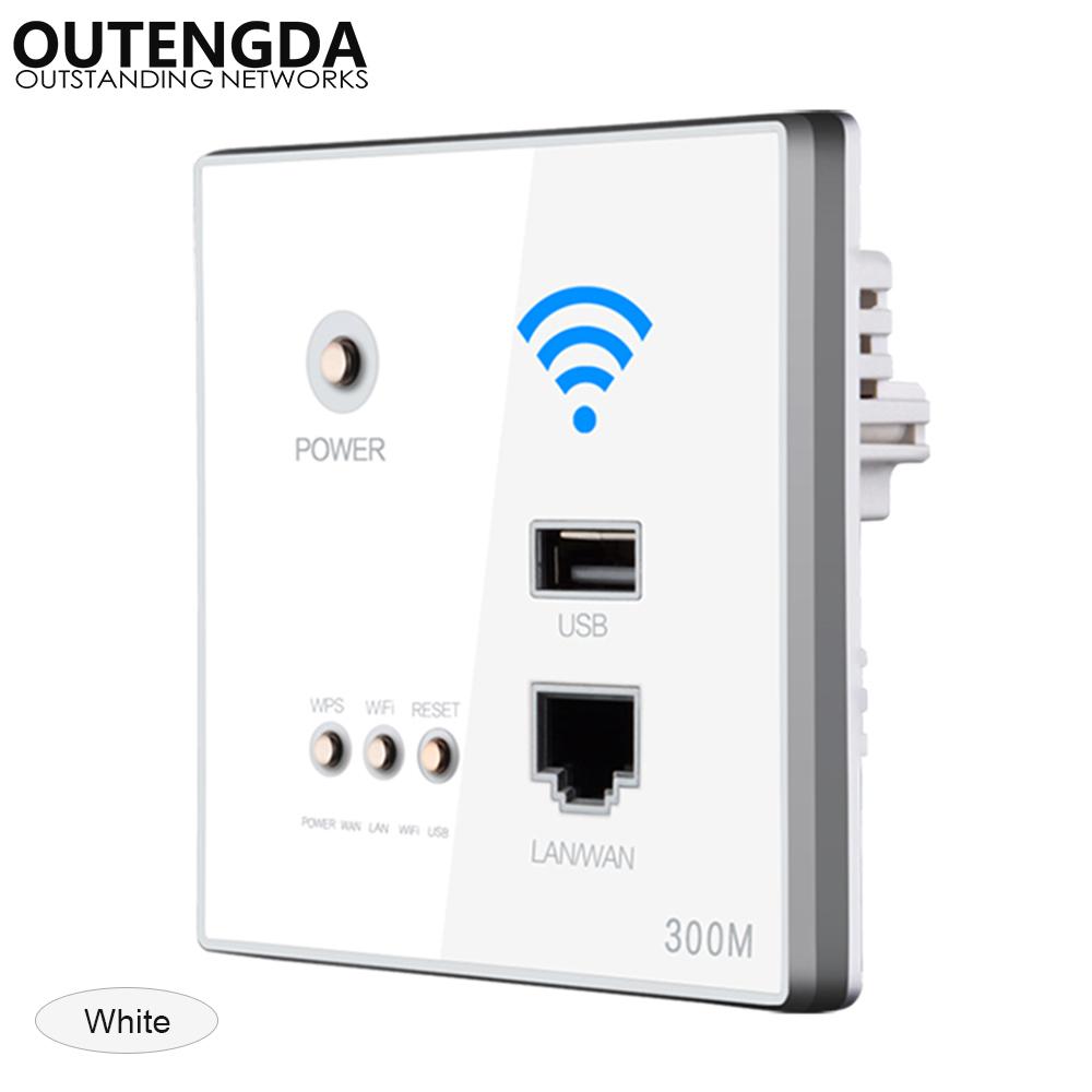 OUTENGDA белый беспроводной маршрутизатор phicomm fir303c 300m ap