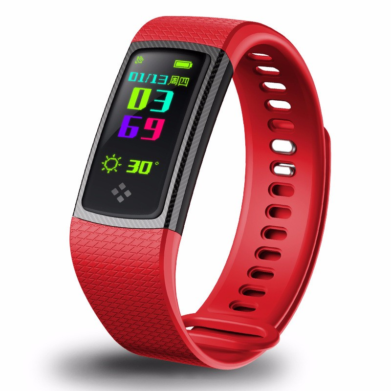 HRAEFN Red аксессуар детский трекер gps lineable smart band size m pink rwl 100pkmd