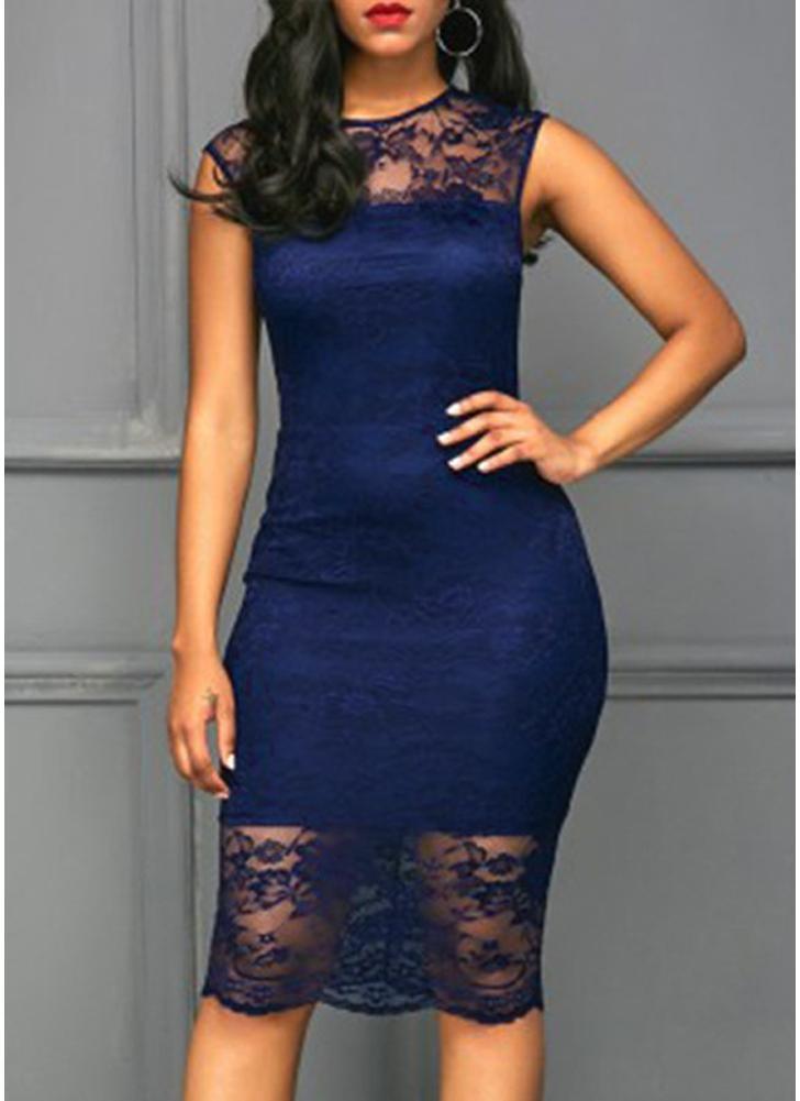 Платье для выпускного вечера малыш платье Темно-синий L фото