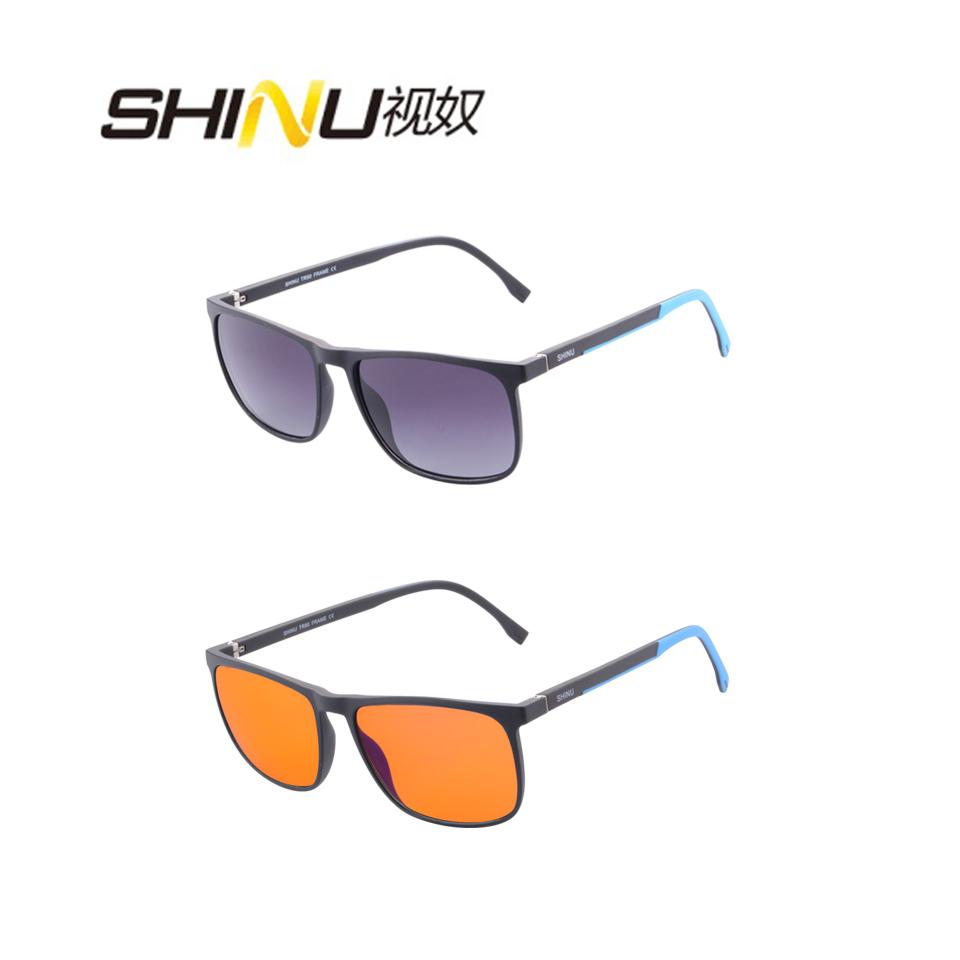 SHINU поляризованный градиент серый и анти синий лучи оранжевый