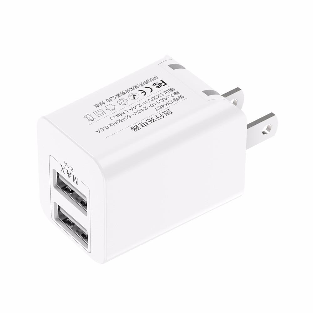 Mzxtby белый Стандарт США awei c 600 5v 2a usb power adapter us plug black