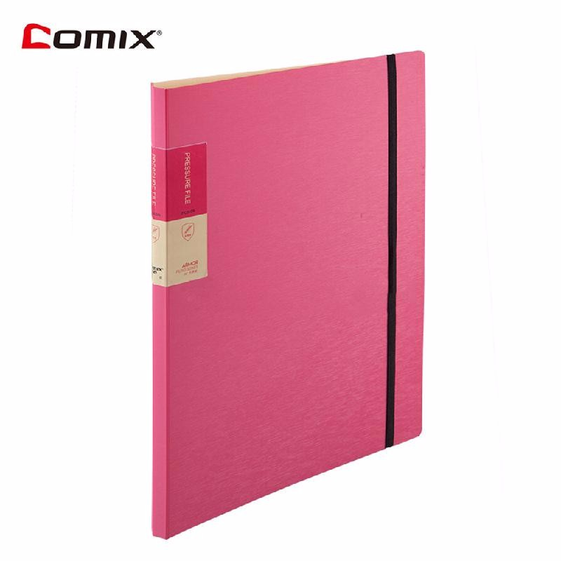 HOMEGEEK красный ruize multifunction pu leather folder organizer padfolio soft cover a4 big file folder contract clamp with notepad office supply