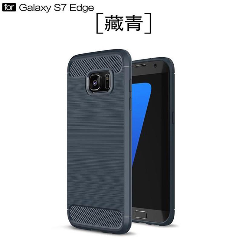 KYKEO Синий цвет Samsung Galaxy S7 edge ultra slim clear phone cases for samsung galaxy s6