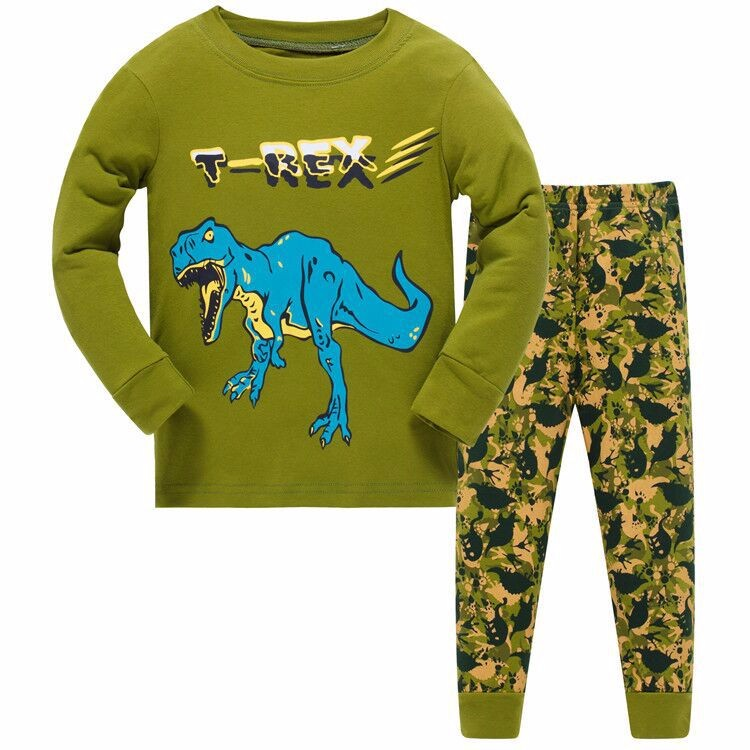 yuyaobaby Цвет 1 7T пижамы roly poly комплект
