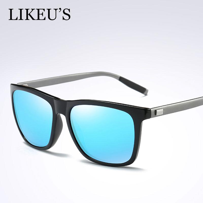 LIKEUS синий очки солнцезащитные persol persol pe007duatbc3
