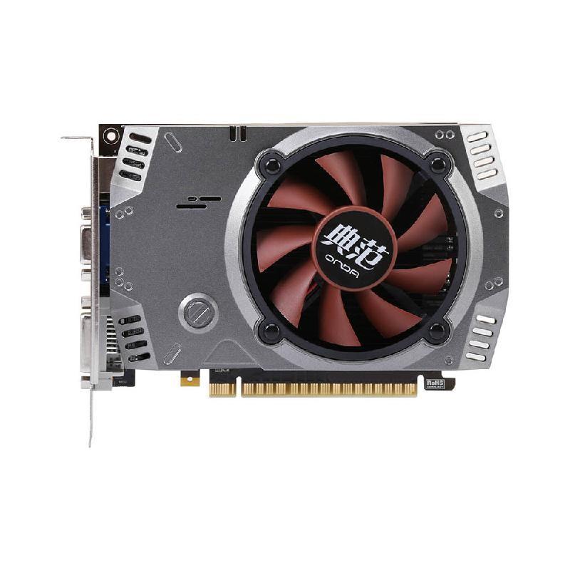 Colorful Чёрный цвет used asus hd7750 1gb ddr5 128bit gaming desktop pc graphics card 100% tested good