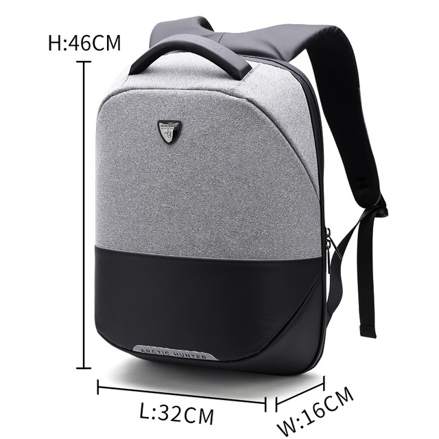 ARCTIC HUNTER белый arctic hunter business travel laptop backpack male casual black classic backpack for men women waterproof school bag