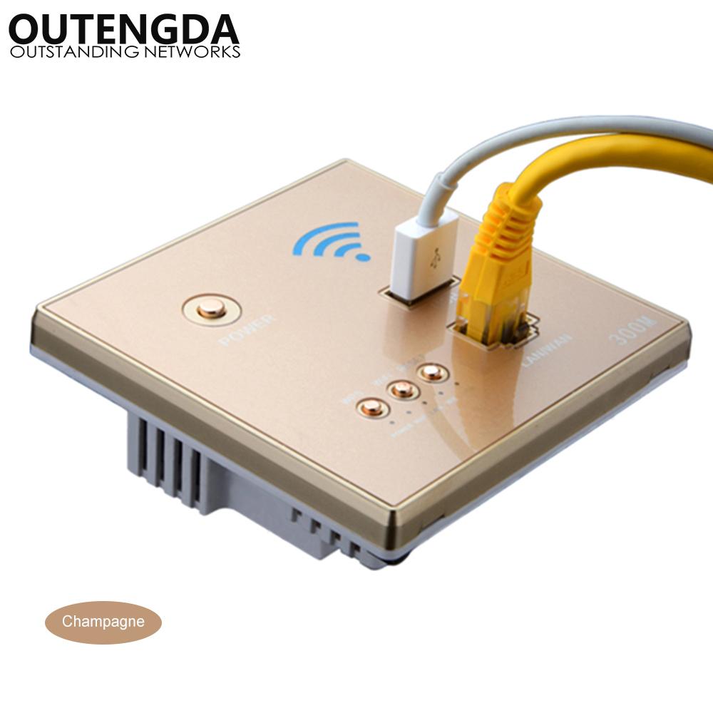 OUTENGDA Золото беспроводной маршрутизатор phicomm fir303c 300m ap