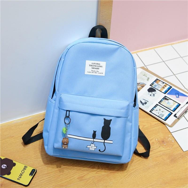Giantex синий рюкзак женский marina creazioni цвет синий 4066