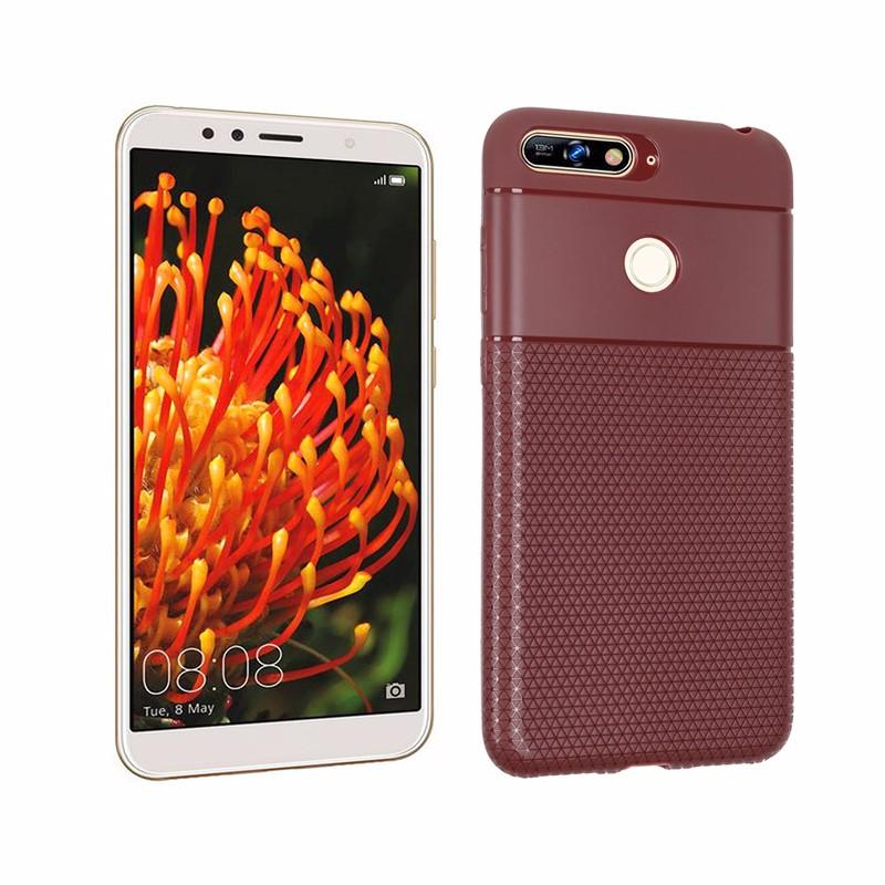 goowiiz коричневый HUAWEI Y7 2018 смартфон huawei y6 pro золотой