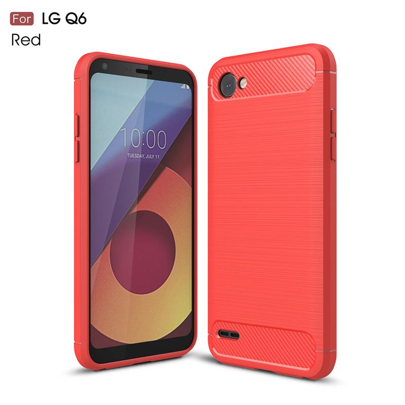 goowiiz красный LG Q6 Q6 Plus смартфон lg q6 чёрный