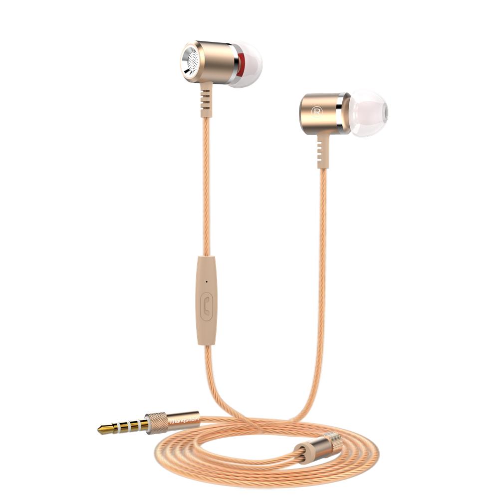 GANGXUN Золото langsdom jd88 super bass in ear headphones 3 5mm jack wired earbuds