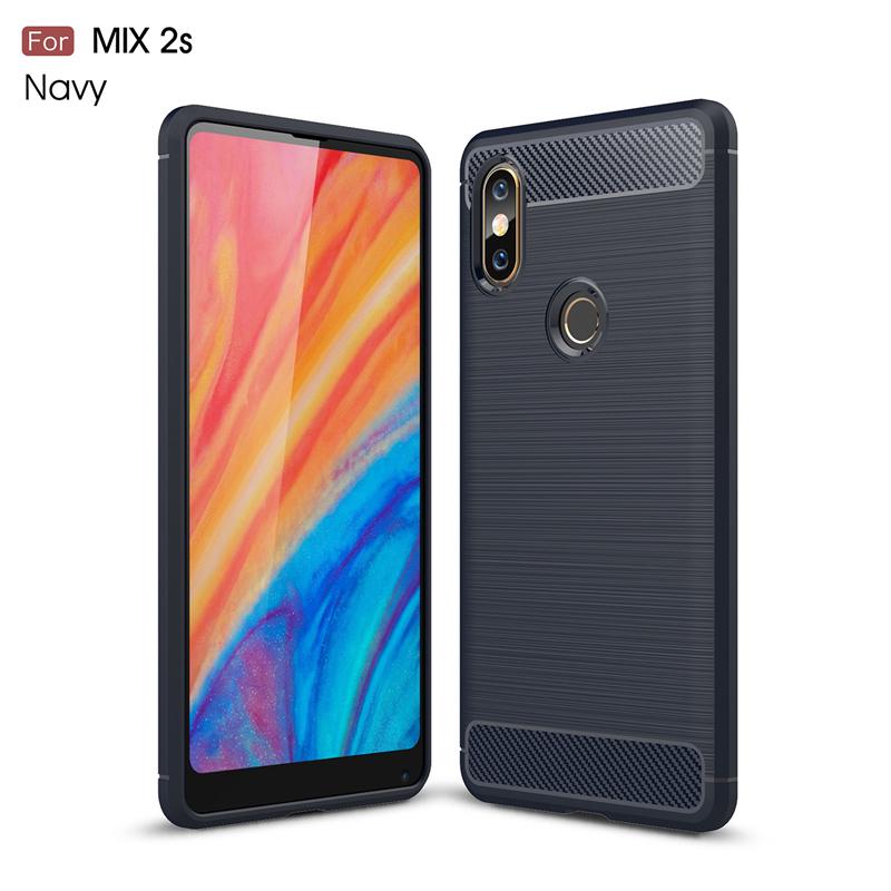 goowiiz Темно-синий MI Mix 2s luanke pu leather tpu flip cover for xiaomi mi mix 2s