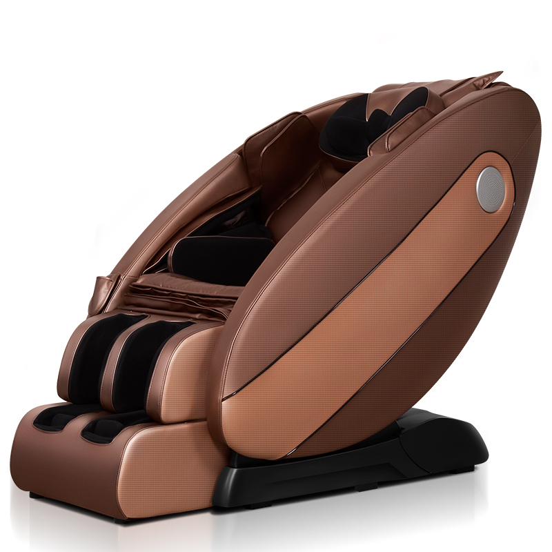 Le er kang средний рыжий Евровилка luxury zero gravity space capsule massage chair home multifunctional electric chair for the elderly
