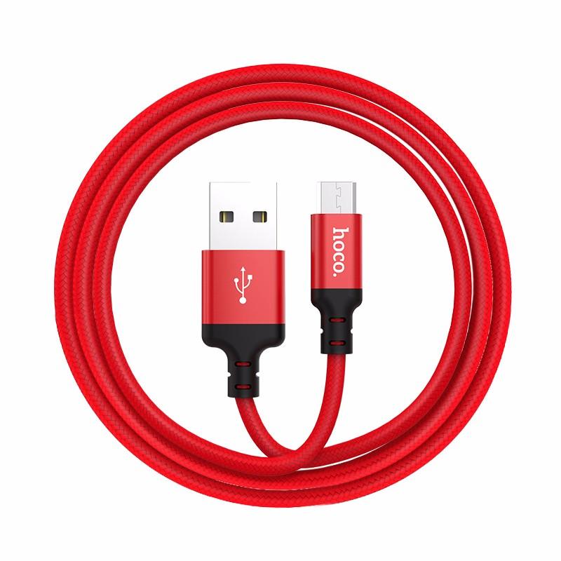 HOCO красный 1 м кабель