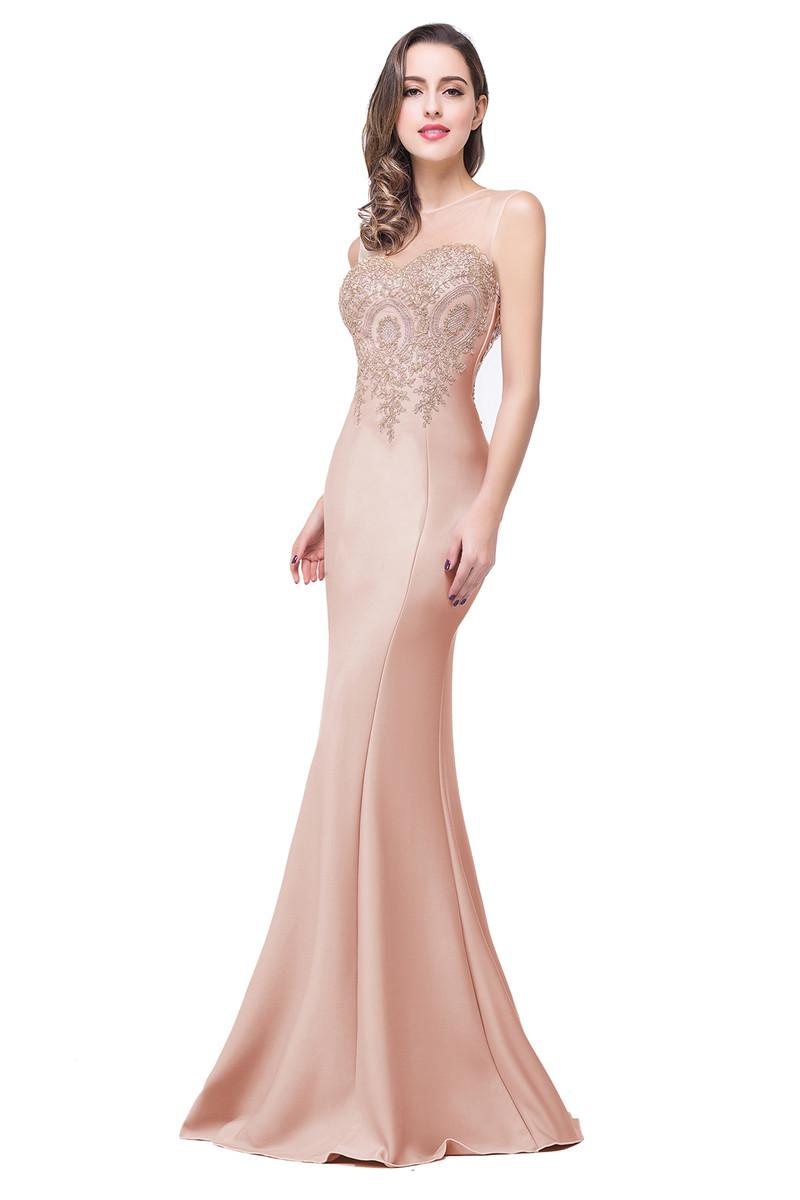 Вечернее длинное платье выпускного вечера babyonlinedress Коралловый розовый США 4 Великобритания 8 ЕС 34 фото
