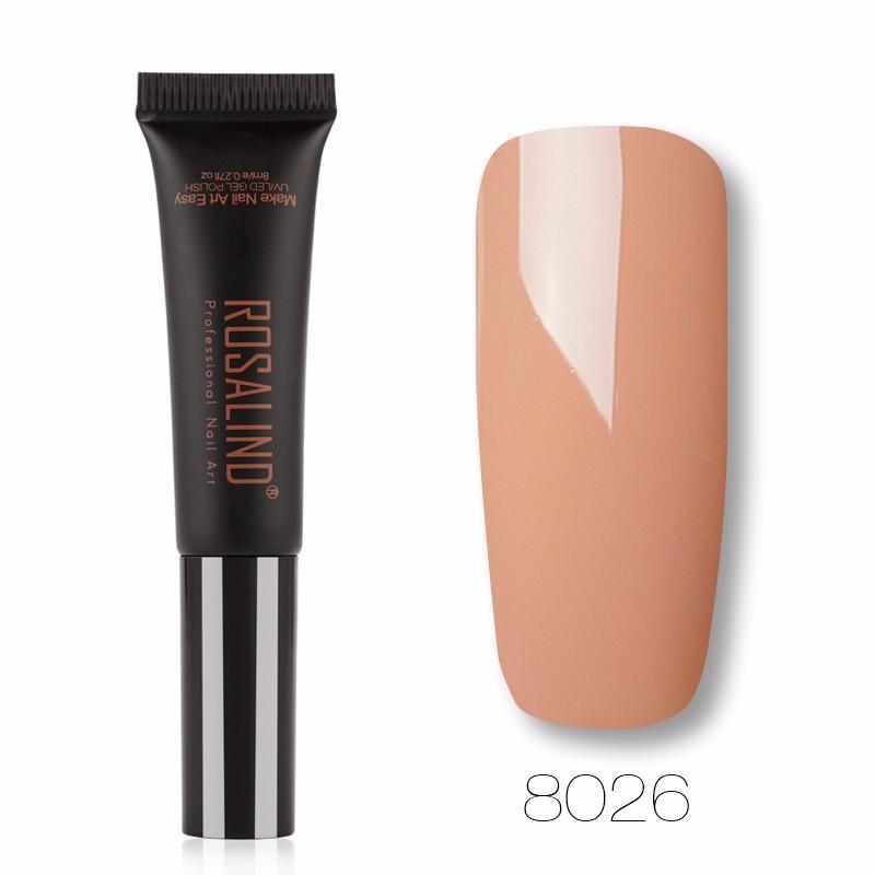 ROSALIND Прозрачный цвет гель лак для ногтей pupa lasting color gel 019 цвет 019 sumptuous mane variant hex name c93a56