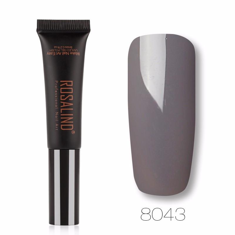 ROSALIND Светло-фиолетовый гель лак для ногтей pupa lasting color gel 019 цвет 019 sumptuous mane variant hex name c93a56