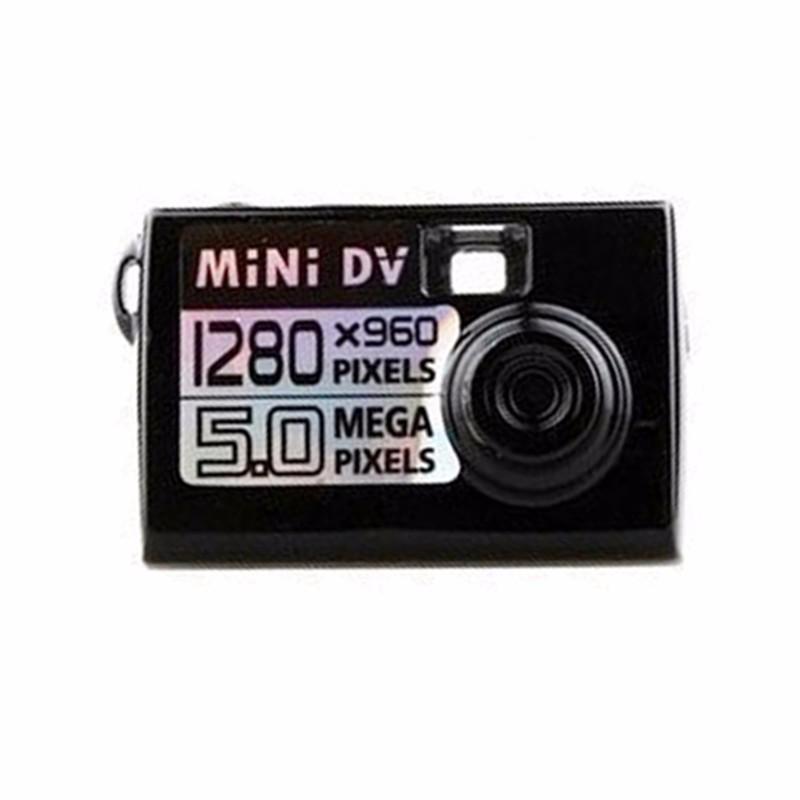 zhileyu черный Micro Mini DV камера
