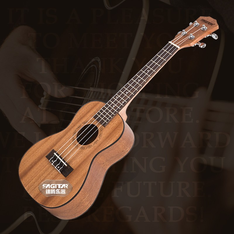 Sagitar hot 21 23 rosewood 4 strings concert ukulele uke acoustic electric bass guitarra guitar for musical stringed instruments