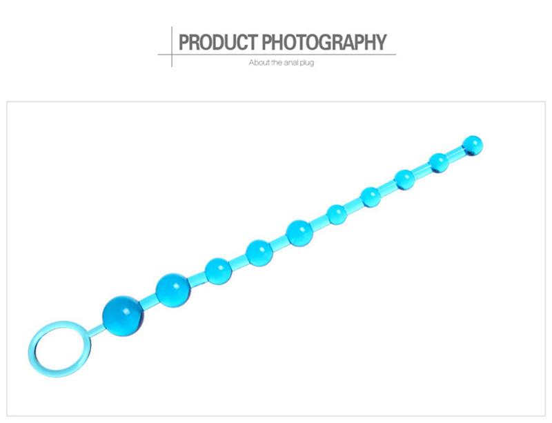 zhileyu синий анальные игрушки длина 20 26 см