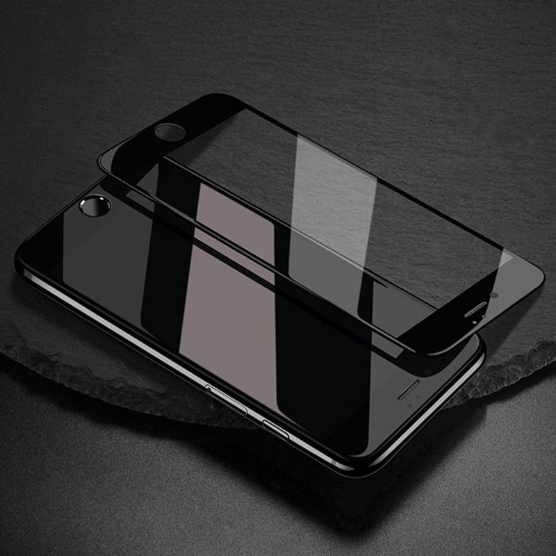 CHANHOWGP черный iPhone 6plus 6s Plus ainy 3d full cover защитное стекло screen protector для iphone 6plus 6s plus