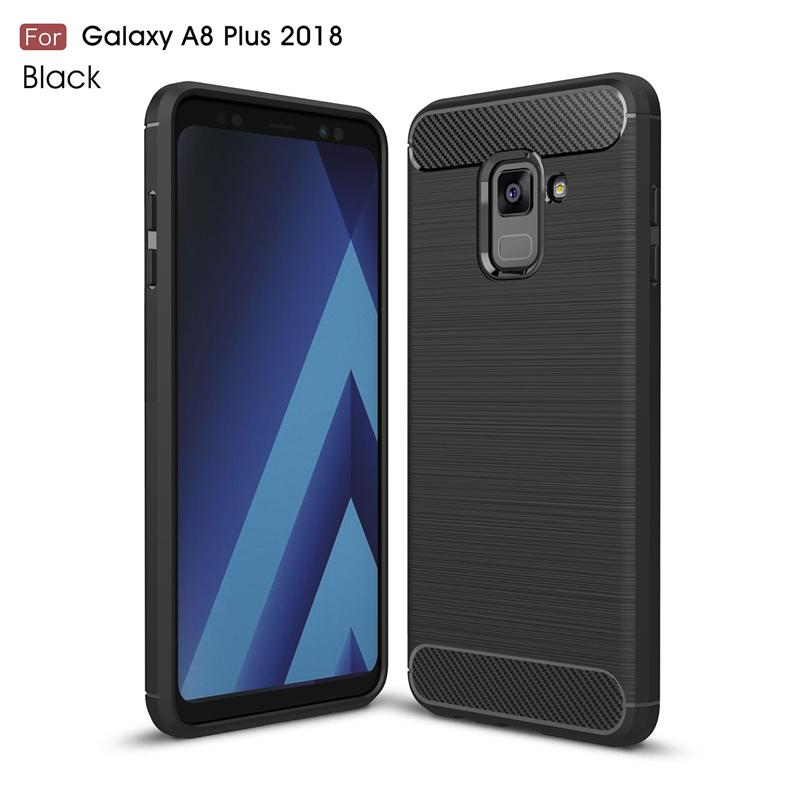 goowiiz черный Samsung Galaxy A8 Plus 2018 A7 2018 A730F blackview a8 смартфон