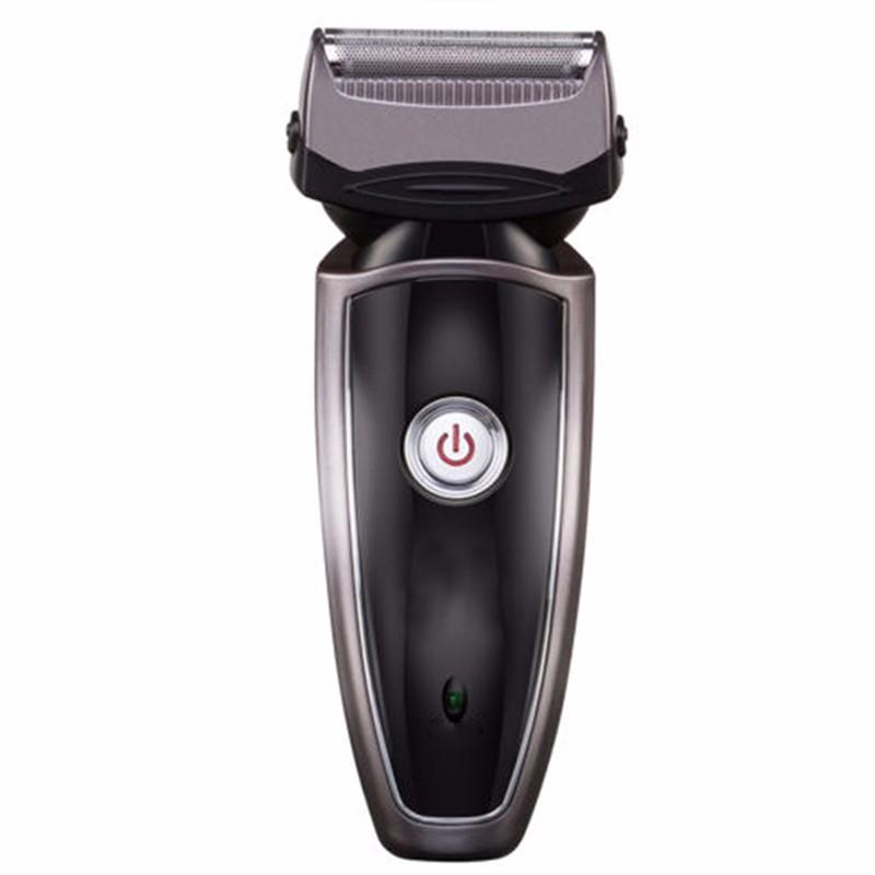 Бесшумная бритва для мужчин электрическая бритва на аккумуляторе для лица бритва KBAYBO Черный Стандарт Англии фото