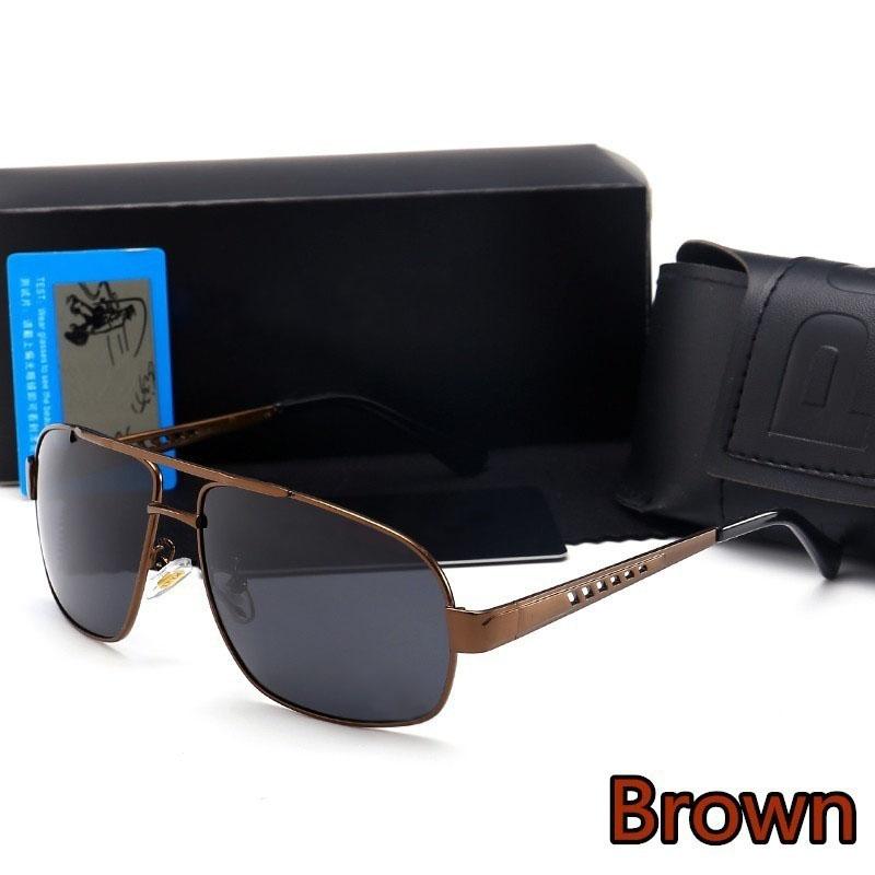 CXSHOWE коричневый мужские солнцезащитные очки radar 2015