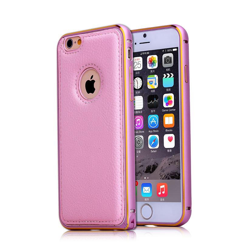 BRG Розоловый цвет iPhone 6 телефон защита жесткого пластика задняя крышка встроенная кожи чехол для samsung galaxy a5 красное облако