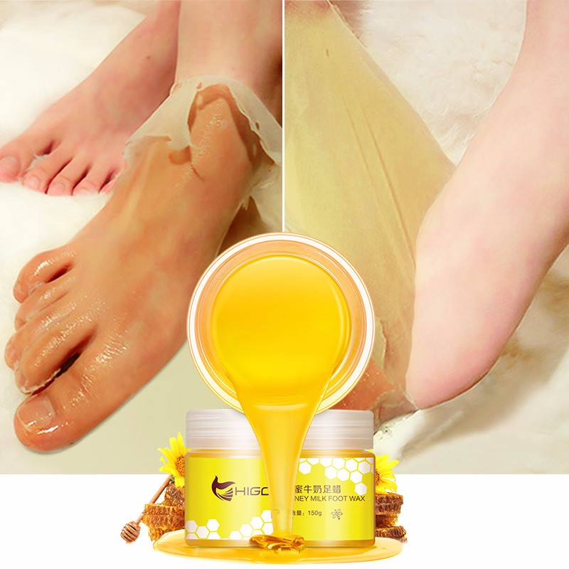 Milk Honey Paraffin Feet Wax Отшелушивающий мертвый пилинг кожи Увлажняющий гидратин Daralis фото